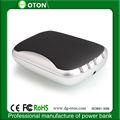 Famosa marca de banco móvel de alimentação para smartphone 5000 ot-pb24 mah