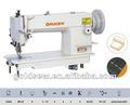 Sr-0302 parte superior e inferior de alimentación del punto de cadeneta de cuero pesado deber de la máquina de coser