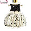 baby 2 año viejo vestido de fiesta de navidad niños vestidos de fiesta vestido de diseños para las niñas jóvenes