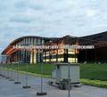 diseño de acero para la construcción del estadio