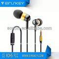 водонепроницаемый e-e026 наушники 2,5 мм дёек с микрофоном