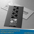 papel tarjeta de negocios