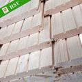 de alta calidad blanco finlandia abeto sauna de madera de la pared del panel
