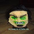 halloween látex velho máscara