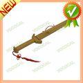 Exquisito de bambú chino espada de wushu w/scabbard nuevo juguete de los niños para 2014