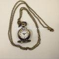 Gran tamaño de diseño antiguo reloj de bolsillo/suéter colgante reloj jr0219