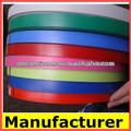 Bandas de pvc borde muebles para/veta de la madera y de color liso de melamina borde de bandas de cinta