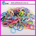 caliente venta de color libre de látex de goma de la banda para anillos pulseras