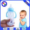Top-10 300ml Ecológico FDA de China del fabricante de la botella de bebé de silicona,biberones,biberones de acero inoxidable