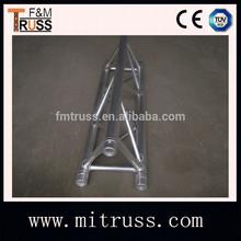 triángulo de aluminio armadura espita para la exposición