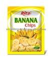 banana chips de frutas