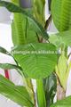 Banano decorativos, artificial de árboles de banano de la decoración