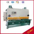 cizallas para metales de acero de la máquina, corte y perforación de la máquina, QC12Y 6x1500 cizalla hidráulica