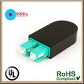 Duplex 50/125 sc de fibra óptica multimodo loopback