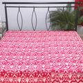 indiana de algodão estampado colchas kantha trabalho massa folha de cama