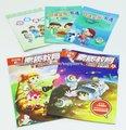 colorido 260x185mm la educación de los niños libros con 4 colores deimpresión