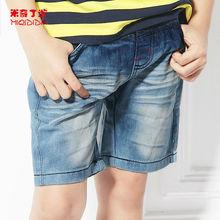 China fabricante de ropa de los niños verano de los muchachos jean pantalones cortos