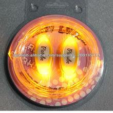 Diseño único cordones LED de colores al por mayor