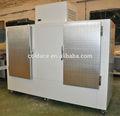 De energía solar de almacenamiento de hielo bin dc-1000 con compresor aspera