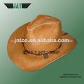 2014 new custom design colored handwoven natural raffia straw cowboy hats