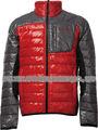 2013 guapo hombres chaqueta abajo cómodo& cálido para usar en invierno& a prueba de agua a prueba de viento con cuello alto