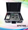 Nuevo producto de largo alcance de metro detector de metales epx7500, los profesionales del diamante hunter