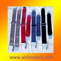 cinturón de seguridad de los aviones