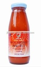 La baya de goji de frutas, congelados bayas de goji, jugo de goji/jugo de wolfberry concentrado/goji bayas secas
