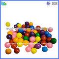 Chewy doces, goma de bolha colorida, forma de bola de chiclete