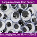 accesorios de juguete de color surtidos artesanales de pestañas los ojos en movimiento
