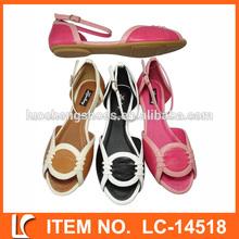 venta al por mayor de moda casual mujer sandalia para 2014