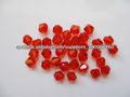 4mm roja bicone bolas de cristal proveedor
