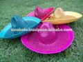 de color de sombrero de paja mexicano