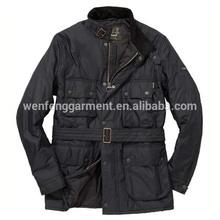 acolchado negro chaqueta de equitación