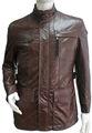 Hombres barato junto chaqueta de cuero al por mayor