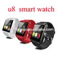 Bluetooth inteligente reloj barato reloj de pulsera U8 U reloj para iPhone 4 / 4S / 5 / 5S Samsung S4 / Nota de 2/3 Nota HTC And