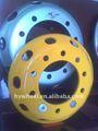 rueda de acero laminado en caliente habló utiliza para ruedas