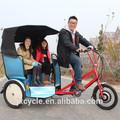 vehículo verde rickshaw eléctrica para la venta