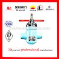 Válvulas reductoras de presión de flujo& válvula de control de campos petroleros