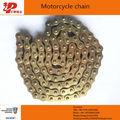 Moto peças distribuidores 428h-120l ouro corrente da motocicleta para venezula
