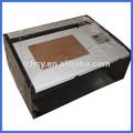 láser de escritorio de la máquina de corte de papel/co2 costo de la máquina de corte por láser de baja
