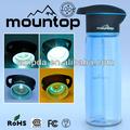 fabricante de porcelana de la botella de agua 750ml PCTG desinfectar el material UV escalada