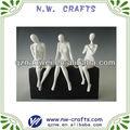 resina escultura de mujer desnuda decoración moderna