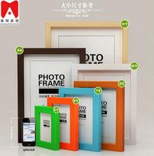 4x6 5x7 6x8 8x10 ps de madera o mdf imagen marco de fotos para la mesa o decoración de la pared del bebé caliente fotos