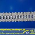 De lujo yjc6443-1 china fabricante de algodón bordado de encaje de ganchillo trim patrón
