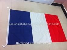 gsm 110 de punto de poliéster bandera bandera de la señal flagwith país logo
