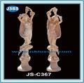Estátua de mármore, escultura em mármore, nuas senhora estátua