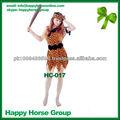 Nuevo 2013/2014 trajes de indio, indio vestido de carnaval, cosplay vestidos de indios