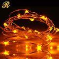 ul 20l 110v mini luces de navidad de cadena multi color blanco de alambre