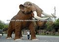 elefante animatronico de tamaño natural para el parque de atración